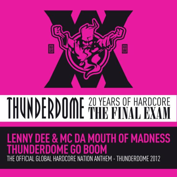 Thunderdome Go Boom Cover
